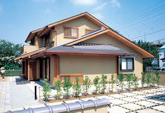 広い敷地に建つ三世代が住む本格和風住宅。|和風・和モダン|