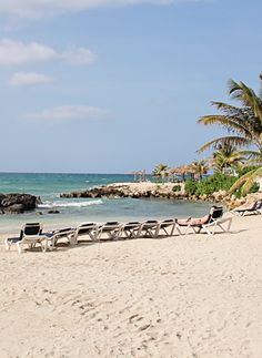 My favorite: Lounging on the beach. (Montego Bay, Jamaica)