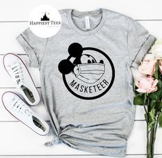 Excited to share this item from my #etsy shop: Masketeer shirt, Masked Mickey, Disney Covid, Disney corona,  Disney, Shirt, quarantine Disney, Disney Shirt, Magic Kingdom, Disney T Shirt Disney Vacation Shirts, Disneyland Shirts, Disney Tees, Disney Shirts For Family, Disney Vacations, Family Shirts, Disneyland Ideas, Disney Disney, Disney Magic