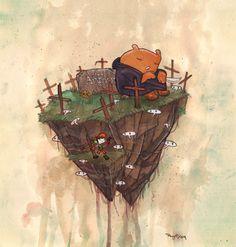 Cave Story Featured Artist: Rey Ortega! Cave Story, Cemetery, Venus, Indie, Game, Artist, Painting, Artists, Painting Art