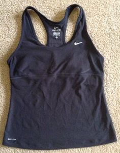 Nike Dri Fit Womens Athletic Tank Sz L / C in Clothing, Shoes & Accessories, Women's Clothing, Athletic Apparel | eBay