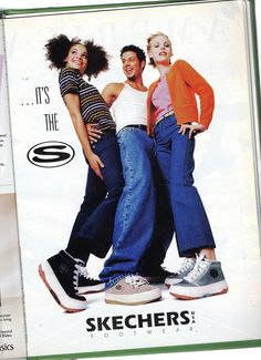 Skechers As - Seventeen Magazine - December 1996 Fashion Mag, 90s Fashion, Vintage Fashion, Fashion Outfits, 00s Mode, Early 2000s Fashion, Moda Retro, Seventeen Magazine, Fashion Catalogue