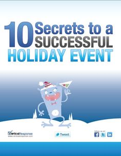 10 Secrets to a Successful Holiday Event    The holidays are here! Time to start planning your upcoming holiday soiree. Whether it's an invite-only gathering or a big fundraiser, we're here to help. Check out these 10 tips that ensure your event makes an impact and leaves your guests coming back for more...