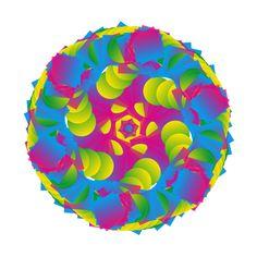 kaleidoscope drawing