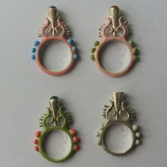 Pre Apocalyptic Baroque rings Baroque, Different Colors, Colours, Mirror, Rings, Projects, Silver, Etsy, Decor