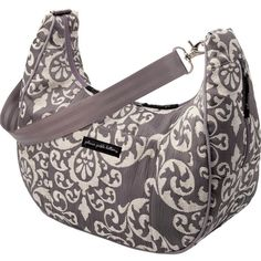 A beautiful neutral diaper bag that goes with everything.  Earl Grey Touring Tote diaper bag- Touring Totes - Bags