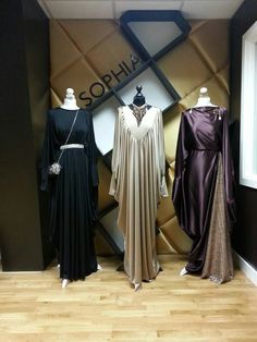 Islamic design house Islamic Fashion, Muslim Fashion, Modest Fashion, Fashion Dresses, Beautiful Dress Designs, Stunning Dresses, Abaya Fashion, Fashion Line, Kebaya Dress