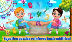 Learn different operations with like multiplication, subtraction, division and addition Free Android Games, Android Apps, Preschool Learning, Teaching, Educational Math Games, Math Games For Kids, Learning Numbers, Multiplication, Google Play