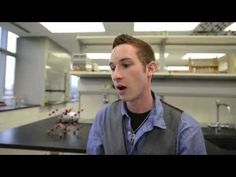 Kellogg Community College alumnus Brandon Snyder, a junior studying psychology, LGBT studies and sociology at Western Michigan University, discusses the benefits of studying math and science at KCC. Background music courtesy of Jason Shaw of audionautix.com.