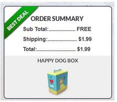 Get $42 worth of dog treats and toys for just $1.99 shipped!!