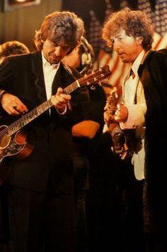 George Harrison & Bob Dylan