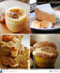 Yummy Pumpkin Recipes-->Pumpkin Toffee Squares & Pumpkin Smoothie