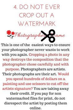 #10 ways to respect your photographer (4)