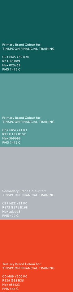 #brand development for @tinspoonfinancialtraining by Inkling About Design 2013 www.inklingaboutdesign.com #logo #branding #identity #graphicdesign Logo Branding, Identity, Graphic Design, Marketing
