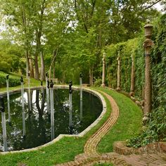 """Georgetown You can't swim laps in Lover's Lane Pool, despite the fact that it has """"lane"""" in its name. And don't even ask about """"lovers"""". But, what IS rad about this pond inside the Dumbarton Oaks Gardens is that it makes music. The hoity-toity name for what's going on is a """"soundscape"""", but lets break it down. Music produced by bamboo percussion instruments emanates from snorkel-like speakers, which bounces off amphitheater seating, creating an ethereal, secret-garden experience."""