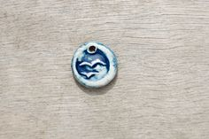 Your place to buy and sell all things handmade Porcelain Clay, White Porcelain, Ceramic Pendant, Freedom, Silver Rings, Buy And Sell, Pendants, Ceramics, Bird