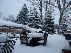 """Rick Gillespie of Franklin says """"Anyone ready for that back patio BBQ??"""" #WHSVsnow"""