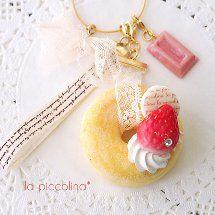 ぱうのできるかな(・ω・) ~la piccolina*の画像 Biscuit, Kawaii Jewelry, Crochet Keychain, Clay Food, Cute Charms, Fake Food, Decoden, Resin Crafts, Clay Creations