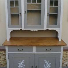 p1110611 Kitchen Dresser, White Kitchen Cabinets, China Cabinet, Storage, Furniture, Home Decor, Off White Kitchen Cabinets, Purse Storage, Kitchen Sideboard