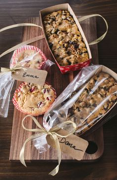 5 Loaf Cakes & Quick Breads That Make Perfect Gifts. Also, ideas on how to package for gift giving.