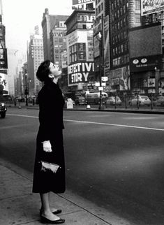 Audrey Hepburn in 1951 - NYC