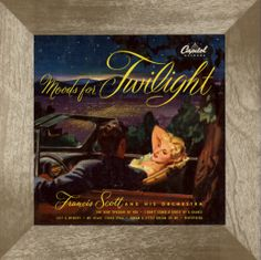 Francis Scott and his Orchestra - Moods for Twilight (1952)