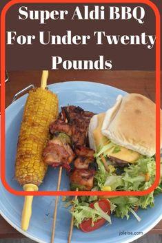 Super Aldi BBQ For Under Twenty Pounds – joleisa – Finance tips, saving money, budgeting planner Frugal Meals, Budget Meals, Frugal Recipes, Household Budget, Best Blogs, Frugal Living, Frugal Family, Saving Money