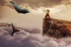 Haris Karagkounidis: Photoshop Manipulation Photography-Κill your dream...
