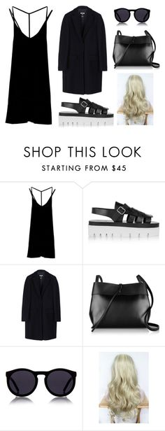 """chic"" by angeliannalcazar ❤ liked on Polyvore featuring RVCA, MM6 Maison Margiela, MSGM, Kara, Le Specs, outfit, chic, ootd, inspiration and polyvoreeditorial"