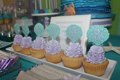 The Little Mermaid Birthday Party Ideas | Photo 4 of 30 | Catch My Party
