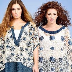 When it comes to romantic fashion... Crochet Shines! #matfashion #crochet #realsize #fashion #inspiration #ootd #instafashion #whattowear #mat_new_era #mat_summer15 #denim #plussizeblogger