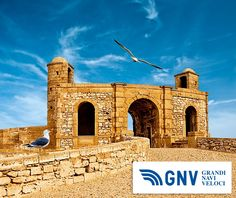 Old fortress in Essaouira overlooking the Atlantic Ocean, Morocco  Reach Maghreb with http://www.gnv.it/