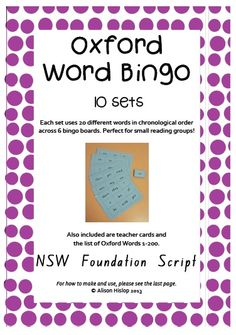 worksheets Words oxford word and Frequency Words sight High Sight