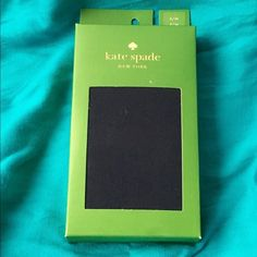 """Kate Spade Navy Tights Brand new in box! Kate Spade """"French Navy"""" tights. Great to pair with your favorite dress or skirt! Size is S/M. 86% nylon, 14% spandex. kate spade Accessories Hosiery & Socks"""