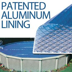 *Above Ground* Silver Diamond Solar Pool Cover. This solar cover comes with a warranty! Above Ground Pool, In Ground Pools, Solar Pool Cover, Pool Care, Pool Heater, Pool Supplies, Pool Maintenance, Spa Offers, Pool Cleaning