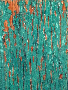 "photographoria: "" When Turquoise Paint Peels My Heat Squeals "" Orange Painting, Turquoise Painting, Orange And Turquoise, Green And Orange, Tiffany Blue Wallpapers, Orange Tapete, Orange Wallpaper, Zeina, D House"