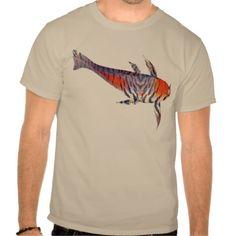 Tiger Carp T-Shirt - a surreal fantasy fish design.