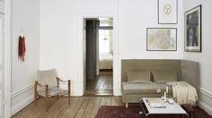Appartement in Stockholm met een vintage interieur