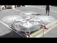 Incredible Heavy Lift Quadcopter Progress Update - YouTube