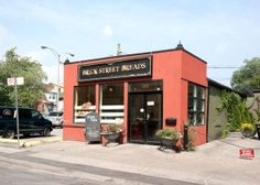 Brick Street Breads (as its know at its Leslieville location) is the smallest of all the Brick Street locations but here is where the magic happens. Lane Cake, What Is Thinking, Chicken Curry Salad, Whole Grain Bread, Fresh Bread, Distillery, Small Towns, The Neighbourhood, Brick