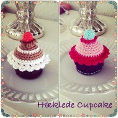 Cupcakes hæklede