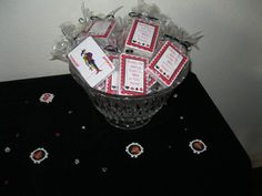 Favors at a Casino Night Party #casino #partyfavors