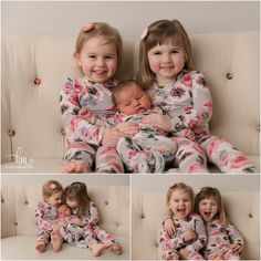 Lifestyle Newborn Photography, Photography Ideas, Matching Pjs, Baby Sister, Three Kids, Newborn Photographer, Children, Sisters, Boys