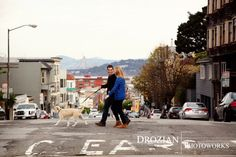 Idea for Amy/Craig Shoot - Crissy Field, San Francisco Engagement Photography: Kelly and Marshall