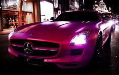 Pink Metallic Mercedes-Benz