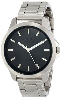Vestal Unisex HEI3M01 Heirloom All Silver Analog Watch >>> Be sure to check out this awesome watch.