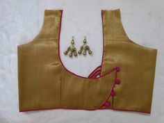 How to stitch back neck design . new blouse design; New Saree Blouse Designs, Patch Work Blouse Designs, Blouse Designs Catalogue, Simple Blouse Designs, Stylish Blouse Design, Sari Blouse, Traditional Blouse Designs, Churidar Neck Designs, Designer Blouse Patterns