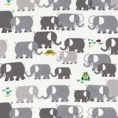 Elephants Baby Blanket