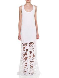 Vassilis Thom, White Summer Dress