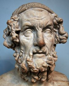Homer (c. ) Considered the greatest of the ancient Greek poets. Homer wrote two epic poems, The Iliad and The Odyssey. His work was hugely influential in shaping Greek culture and literature. Greek History, Ancient History, Heinrich Schliemann, Homer Odyssey, Trojan War, Greek Language, English Language, Art Antique, Greek Culture